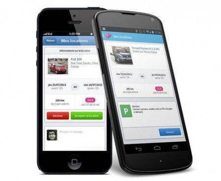 application mobile drivy
