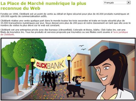 Business sur Internet avec ClickBank